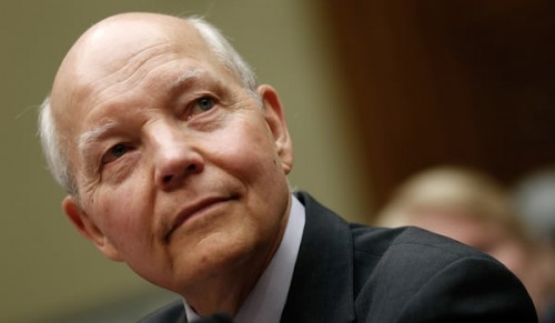 IRS Commissioner John Koskinen, before Congress on June 23, 2014 (Win McNamee/Getty)