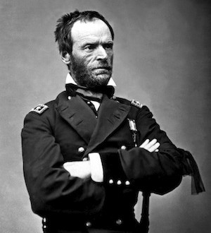 Gen. William T. Sherman, ca. 1864-65. Mathew Brady Collection. (Army)