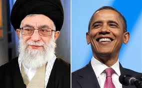 Khamenei and Obama via Breitbart.com