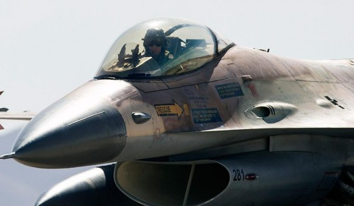 Israeli Air Force F-16 fighter (Jack Guez/AFP/Getty)