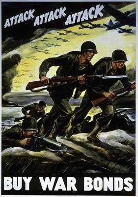 Buy War Bonds Poster WWII